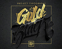 My typography arts, Black and Gold project #2