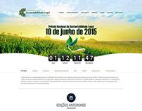 Hotsite - Prêmio Sustentabilidade Legal - Verde Ghaia