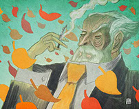Rhyme Rag Illustrations June-November 2014