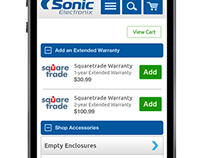 Mobile acessories page-ecommerce