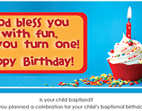 Nursery Birthday Cards