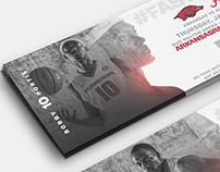 2014-15 Arkansas Men's Basketball Season Tickets