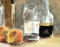 analog paintings & drawings