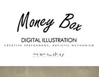 Money Box | Illustration (Timelapse video)