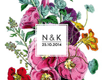 N&K - Wedding Identity