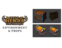 Battle of Heroes -Environment and props- Ubisoft Mobile