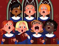 Christmas Choir Flyer