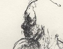 Nude Drawings 2014 - 2