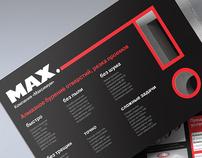 Maximum. Booklet.