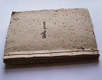 Handmade book of poetry