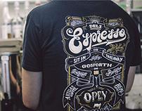 Deli Espresso Branding
