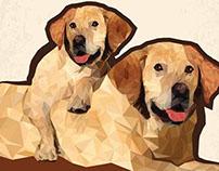Geometric Animal Project - Dog
