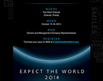 Email Invitation for Expect the World 2014