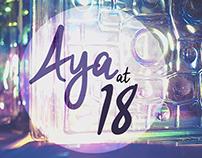 Aya at 18th