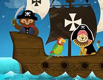 Pirate Puzzle App