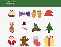 XMAS Icons Set - Free Christmas Supreme Shortcodes