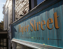 Paper Street Photography Branding & Sign Painting