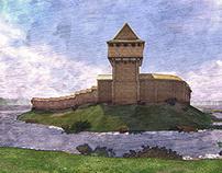 Vyzhva Castle