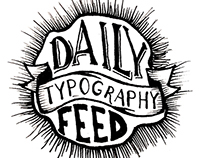 Daily Typography Feed