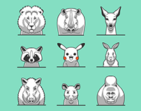 The Animal Icon Small Pack