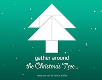 Tangram Animated Christmas Card