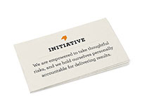 MasterCard Mission & Values Launch Campaign