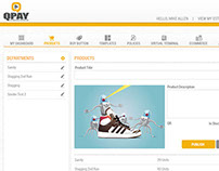 Qpay web application design
