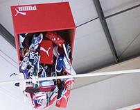 Puma trainer installation, London