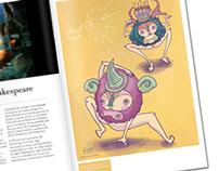Danza Hormonal // Editorial Illustration