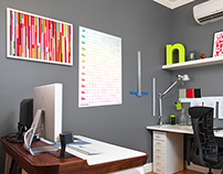 Two Thousand Fifteen | 2015 Wall Planner