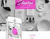 SHOPBOP Mobile Application