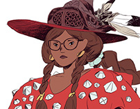Red Mage (Fashion Fantasy)