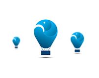 Blue Bird Balloon