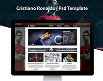 Template PSD     Cristiano Ronaldo