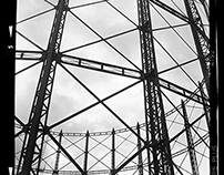 gas towers