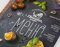 Pesto Cafe Menu