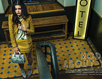 """""""MOD about you"""" for Grazia, November 2014"""