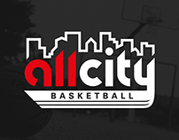 All City Basketball Identity