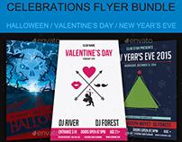 Celebrations Flyer Bundle