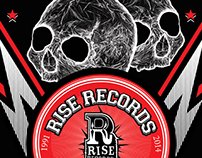 "Rise Records - ""Street Team"" T-shirt design"