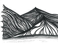 Peloponnese Mountains Illustration