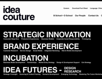 Idea Couture Website (2007)