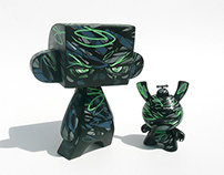 "Custom madL and 3"" Dunny set"