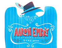 Aaron Embry - Gig Poster