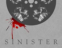 Sinister Minimalist Poster