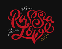'From Russia With Love' T-Shirt