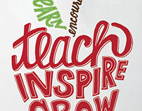Hand Lettering for Teacher Products