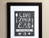 Hand Lettering for Home Decor