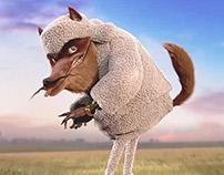 Superbid Wolf Animation