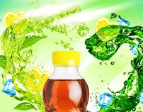 Nestea limon and green tea